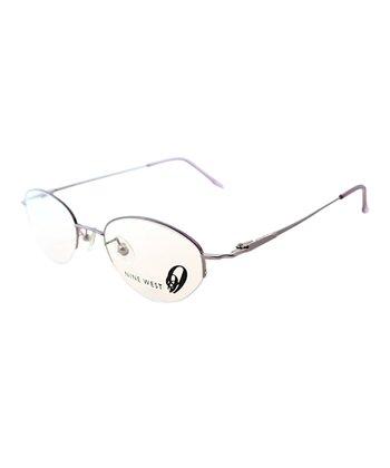 Rose Round Wire-Frame Eyeglasses