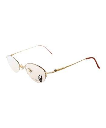 English Round Wire-Frame Eyeglasses