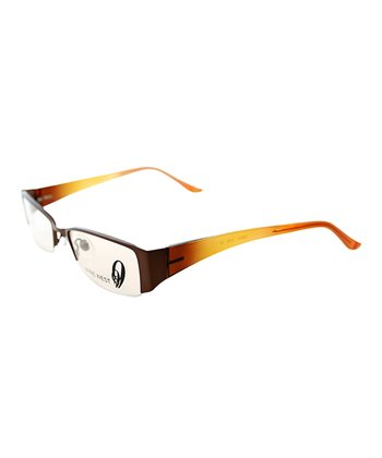 Brown & Yellow Ombré Eyeglasses