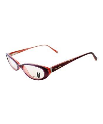 Purple Cat-Eye Eyeglasses