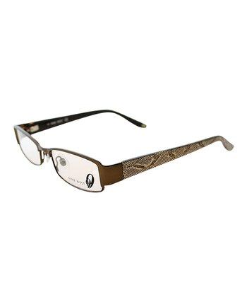 Satin Snakeskin Eyeglasses