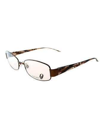 Satin Snakeskin Wireframe Eyeglasses