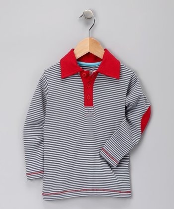 Slate & Sand Organic Play Polo - Infant, Toddler & Boys