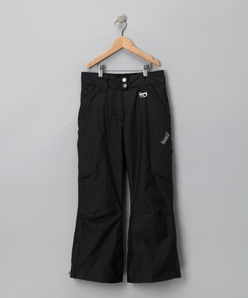 Black G. Pop Cargo Pants