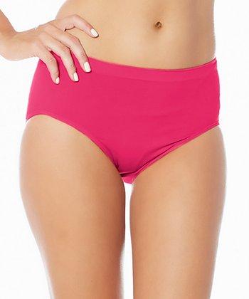 Hot Pink Ahh Briefs - Women & Plus