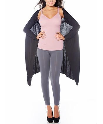 Black Snuggle Knit Shrug - Women & Plus