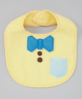 Yellow Nerd Alert Bib