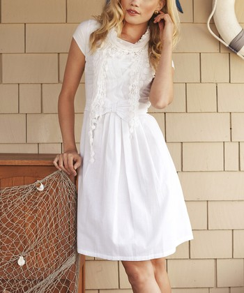 White Trade Winds Dress