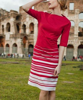 Red Baciami Dress