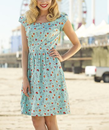 Floral Neap Tide Dress