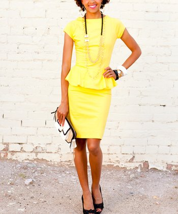 Yellow El Capitan Dress