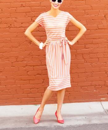 Papaya Perfection Dress