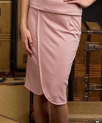Pink Gibson Girl Skirt