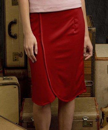 Red Gibson Girl Skirt