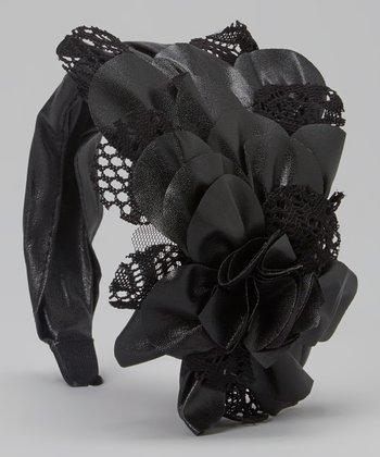 Black Mesh Fascinator