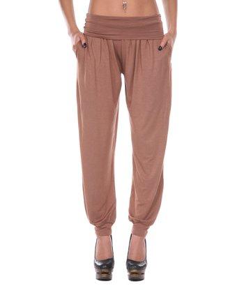 Mocha Harem Pants