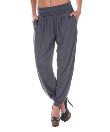 Charcoal Harem Pants