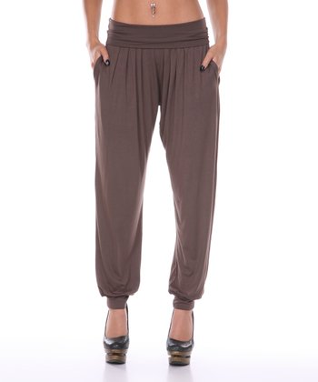 Dark Brown Harem Pants