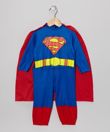Red & Blue Superman Dress-Up Set - Infant & Toddler