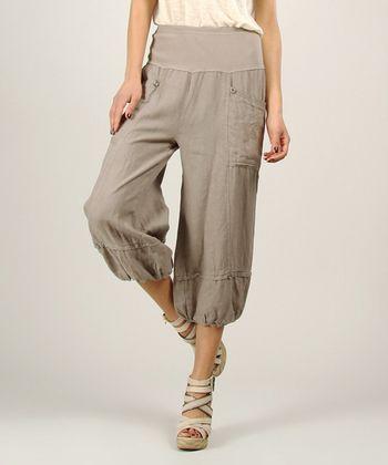 Mole Linen Ruched Pants Ruched Pants