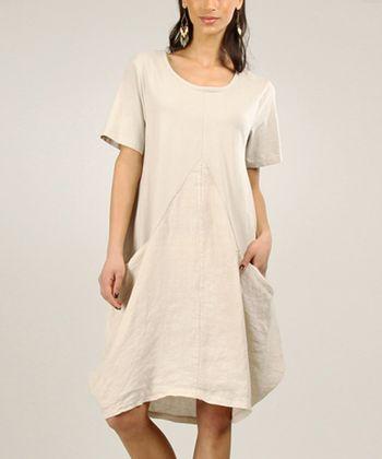 Sky Gathered Linen Maxi Dress