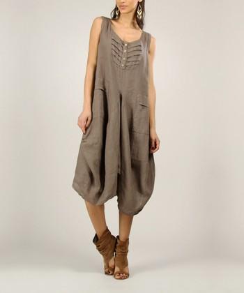 Mole Linen Sleeveless Dress