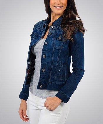 Liverpool Jeans Company Blue Steel Classic Denim Jacket