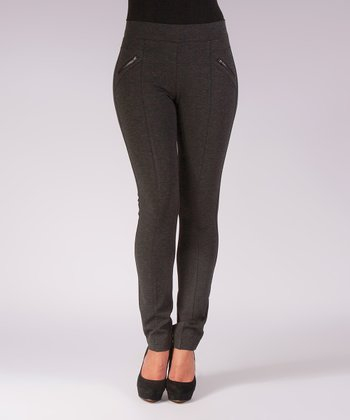 Liverpool Jeans Company Charcoal Madonna Skinny Jeggings