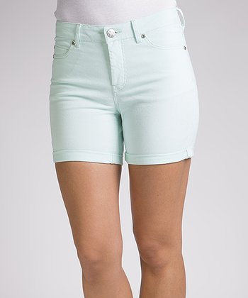 Liverpool Jeans Company Misty Blue Linda Shorts