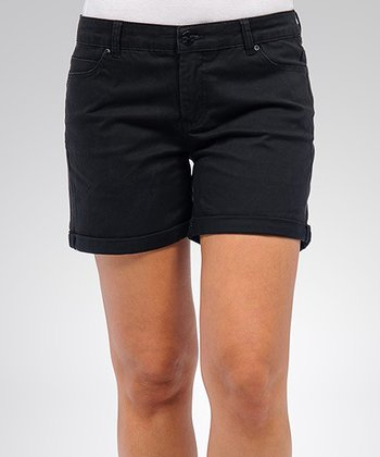 Liverpool Jeans Company Black Linda Shorts