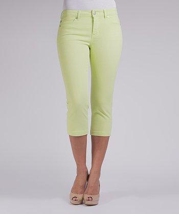 Liverpool Jeans Company Limeade Michelle Capri Pants