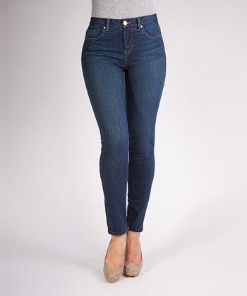 Liverpool Jeans Company Petrol Blue Madonna Skinny Jeggings