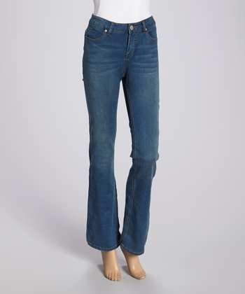 Liverpool Jeans Company Senegal Blue Lucy Bootcut Jeans