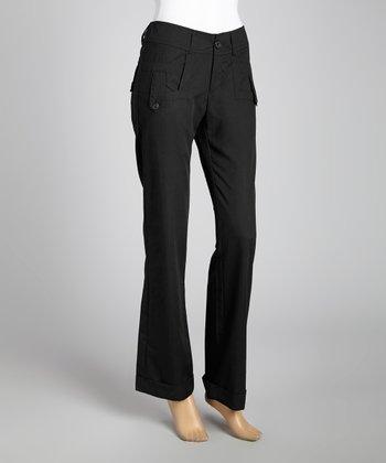 STYLE Black Tab Skinny Pants