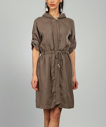 Choco Rachel Linen Coat