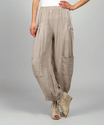 Mole Kelya Linen Cargo Pants