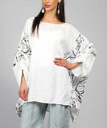 White Ariell Linen Tunic