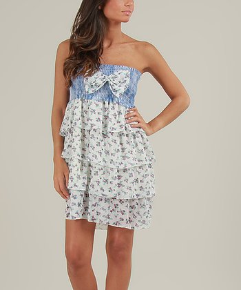 Violet & Blue Vanessa Strapless Dress