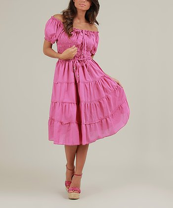 Fuchsia Olie Dress
