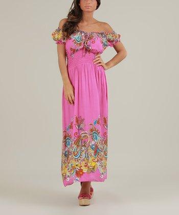 Fuchsia Justine Dress
