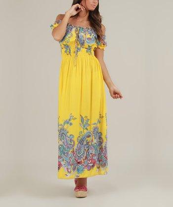 Yellow Justine Dress