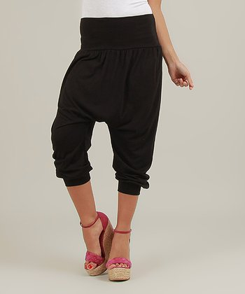 Black Sarah Harem Pants