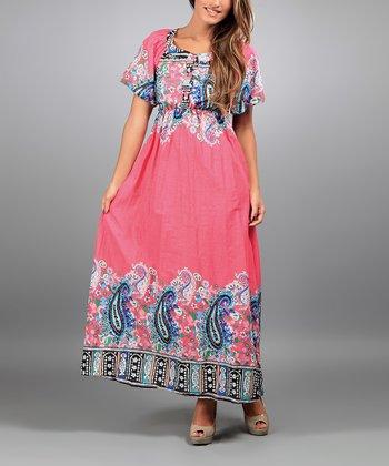 Pink Nora Maxi Dress