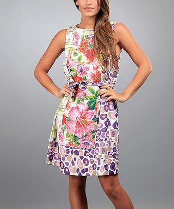 White Sonia Sleeveless Dress