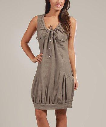 Mole Johanna Linen-Blend Sleeveless Dress