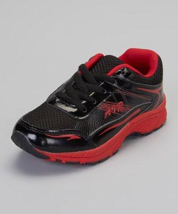 Black & Red Air Sneaker