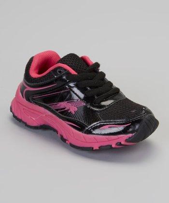 Black & Fuchsia Air Sneaker