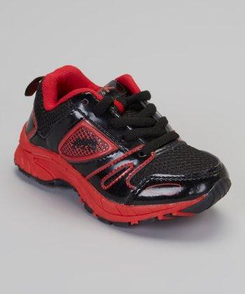 Red & Black Patent Air Sneaker