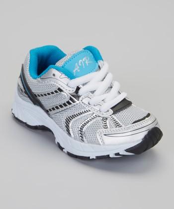 Silver & Black Air Sneaker
