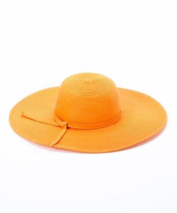 Jeanne Simmons Accessories Orange Sunhat